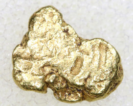 0.74CTS ALASKAN MONTANA CREEK GOLD NUGGET TBG-3360
