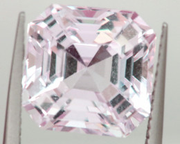 9.11CTS- KUNZITE FACETED GEMSTONE  TBM-2149