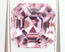 7.78 CTS- KUNZITE FACETED GEMSTONE  TBM-2152