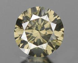 0.15 Cts Untreated Yellowish Grey Natural Loose Diamond