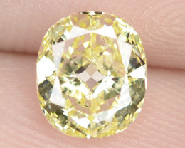 1.01  Cts Untreated  Sparkling Fancy Yellow Natural Loose Diamond