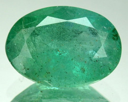 1.66 Cts AWESOME NATURAL ULTRA RARE GREEN COLOMBIAN EMERALD