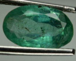 1.81 Cts AWESOME NATURAL ULTRA RARE GREEN COLOMBIAN EMERALD