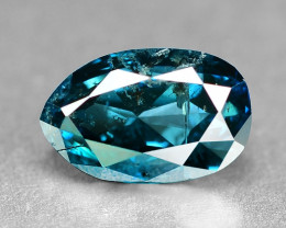 0.92  Cts Sparkling Fancy Intense Blue Color Natural Loose Diamond