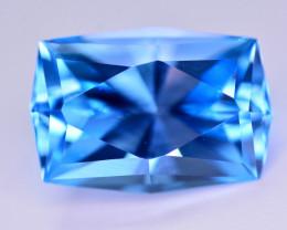 Stunning 12.45 Ct Natural Blue Topaz Gemstone