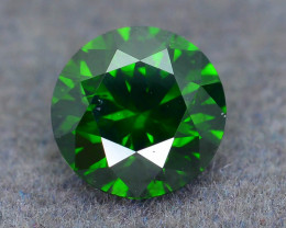 Diamond 1.04 ct Forest Green Color AAA Grade Excellent Brilliance SKU-19