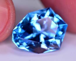 Stunning 17 Ct Natural Blue Topaz Gemstone
