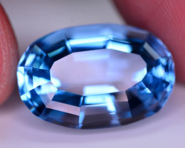 Stunning 24.30 Ct Natural Blue Topaz Gemstone