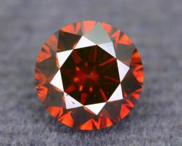 AAA Grade Diamond 0.83 ct Reddish Orange  SKU-19