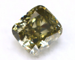 Green Diamond 0.70Ct VS2 Genuine Rare Fancy Green Diamond A1603