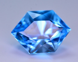 Stunning 14.40 Ct Natural Blue Topaz Gemstone