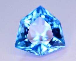 Stunning 17.50 Ct Natural Blue Topaz Gemstone