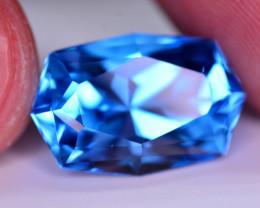 Stunning 15.50 Ct Natural Blue Topaz Gemstone