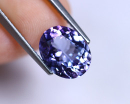 2.88cts Natural Violet Blue D Block Tanzanite / RD218