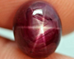 8.31 Carat Fiery Treated Star Ruby - Gorgeous