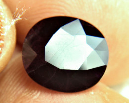 7.90 Carat Heat Only Deep Burgundy / Black Ruby - Gorgeous