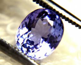 1.32 Carat Purple / Blue African VVS Tanzanite - Gorgeous