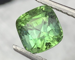 Afghanistan Top Top Quality Apple Green Natural Tourmaline 2.75Cts