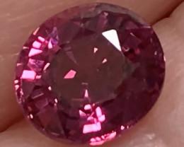 1.53cts Purple Pink Rhodolite Garnet -
