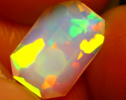Welo Opal 1.13Ct Natural Ethiopian Play of Color Opal DR28