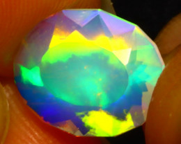 Welo Opal 1.94Ct Natural Ethiopian Play of Color Opal DR29