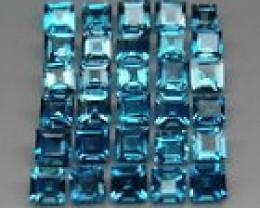 30p London Blue Topaz - 5.58 cts - Brazil