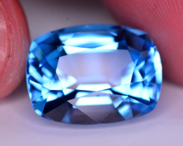 Stunning 22 Ct Natural Blue Topaz Gemstone