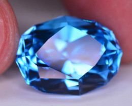 Stunning 25 Ct Natural Blue Topaz Gemstone