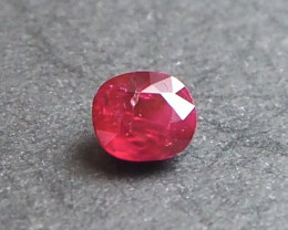 0.9ct unheated Pigeon blood ruby