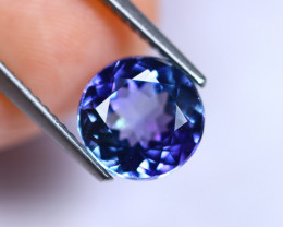 2.68cts Violet Blue D Block Tanzanite / RD222