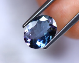 2.10cts Violet Blue D Block Tanzanite / RD224