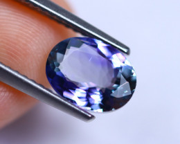 1.57cts Violet Blue D Block Tanzanite / RD229