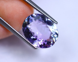 5.10cts Violet Blue D Block Tanzanite / RD231