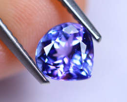 1.07cts Violet Blue D Block Tanzanite / RD232