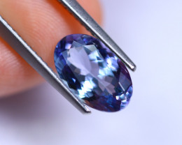 2.21cts Violet Blue D Block Tanzanite / RD236