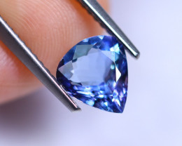1.23cts Violet Blue D Block Tanzanite / RD237