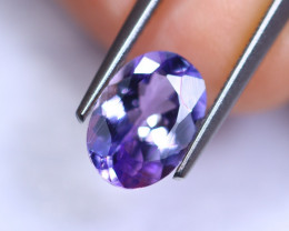 2.03cts Violet Blue D Block Tanzanite / RD240