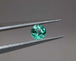 #1007 COLUMBIA TOP LUSTER NATURAL EYE CLEAN EARTH MINED TOP QUALITY EMERALD