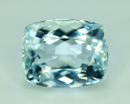 NR Auction 4.90 CT Natural Cushion Cut Aquamarine Gemstone