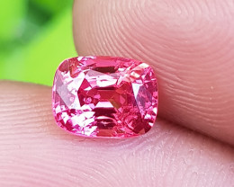 NO TREAT 1.52 CTS NATURAL STUNNING PINKISH RED JEDI SPINEL FROM BURMA