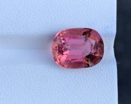 6.62 Carats Natural  Pink Color Tourmaline Gemstone