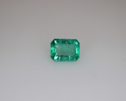 #1031 0.45CT NATURAL EYE CLEAN EARTH MINED TOP LUSTER PANJSHIR EMERALD GEMS