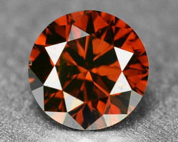 0.19 Sparkling Rare Fancy Intense Red Color Natural Loose Diamond