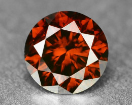 0.22 Sparkling Rare Fancy Intense Red Color Natural Loose Diamond