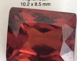 Firey Red Hessonite Garnet - Afghanistan H772