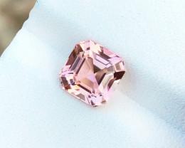 2.35 Ct Natural Pink Transparent Tourmaline Top Quality Gemstone