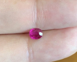 Gem quality natural  vivid red Ruby from Myanmar