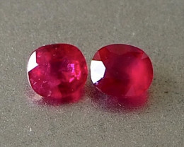 1.14ct natural vivid red ruby from Myanmar