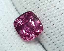 NO TREAT 1.30 CTS NATURAL STUNNING CUSHION MIX PINK SPINEL BURMA