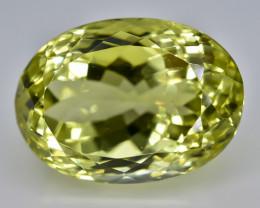 17.67 Crt Lemon Quartz Faceted Gemstone (Rk-69)